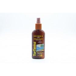 Bronzeador oleo 15 spray 200ml 0102149