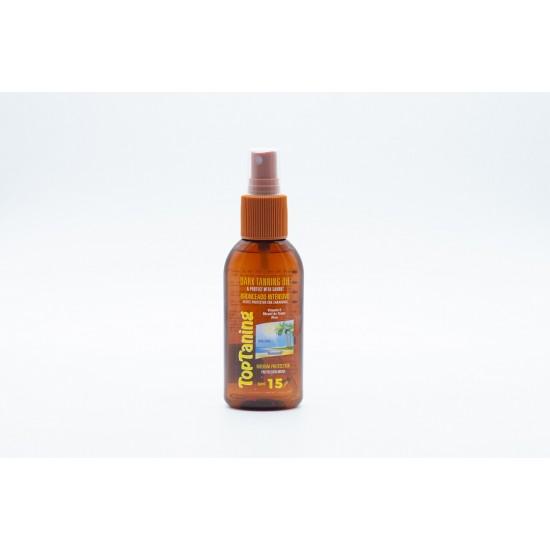 Bronzeador oleo cenoura spray 100ml  0104001