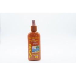 Leite bronzeador intensivo spray 20 200ml 0202123
