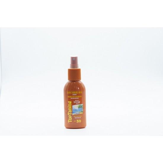 Leite bronzeador intensivo spray 30 100ml 0203002