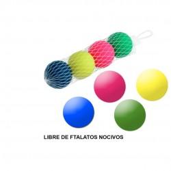 Saco c\4 bolas néon para raquetes 03003