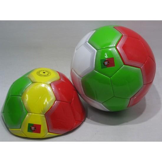 Bola futebol cores Portugal 330gr 00099