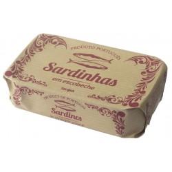 Sardinhas em escabeche gourmet 125gr 10010