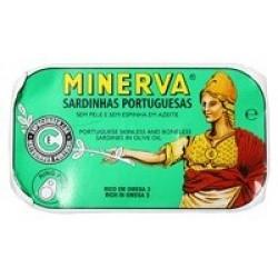 Minerva sardinhas em azeite gourmet 120gr