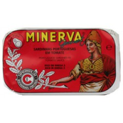 Minerva sardinhas em tomate gourmet 120gr