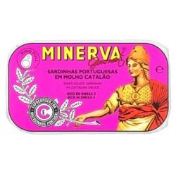 Minerva sardinhas molho catalão gourmet 120gr