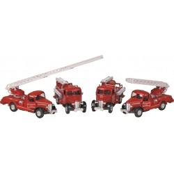 Carros de bombeiros classicos sortidos 13cm 12057