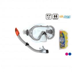Conjunto mergulho pvc infantil puerto rico blister 12172
