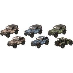 Carro metal jeep wrangler de 2018 13cm 12291