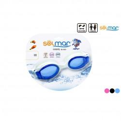 Óculos mergulho anti vácuo júnior em silicone blister 13203
