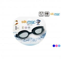 Óculos natação adulto silicone blister 13205