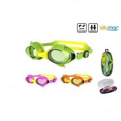 Óculos natação infantil silicone em caixa 13300