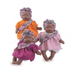 Boneca 26cm africana com trajes tipicos 140
