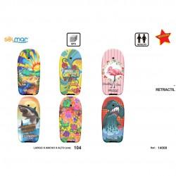 Prancha surf esferovite estampada 104 cm 14008
