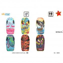 Prancha surf esferovite c/pegas 94 cm 14011