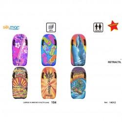 Prancha surf esferovite c/pegas 104 cm 14012