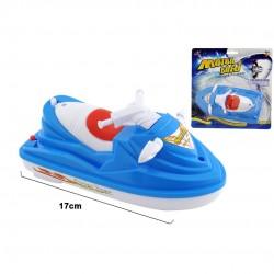 Brinquedo praia mota agua c/pilhas 17 cm 16420