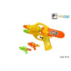 Pistola água plástico cores sortidas  22cm 16536