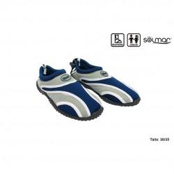 Sapato agua júnior em neopreno 30-35 17312