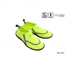 Sapato água senhora neopreno néon verde 35-41 17317