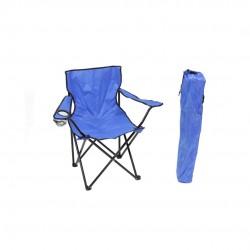 Cadeira de campismo azul 46*80*80cm 193615