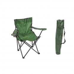 Cadeira de campismo verde 46*80*80cm 193616