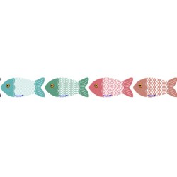 Imans peixes azuleijos Portugal 9*4cm 50001