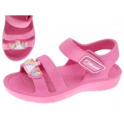 Sandália menina cor de rosa 24-29 2184501