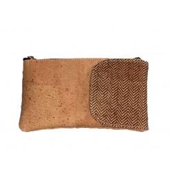 Bolsa carteira em cortiça 16*9*1.5cm22017