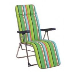 Cadeira posições relax alumínio 94x61x160cm 244al