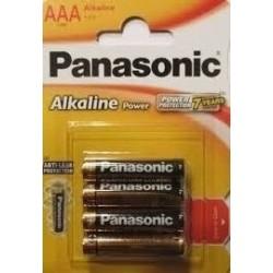 Blister 4 pilhas alcalinas LR3 1.5V AAA 26002