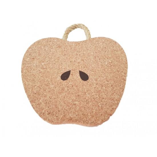 Base de cortiça maçã 24*21cm 44013