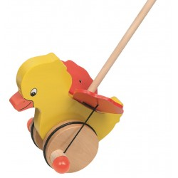 Curre-curre pato madeira 18cm 54990
