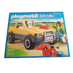 Playmobil veterinária c/ carro 5532