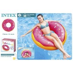Boia insuflável donut d99*25cm 56256