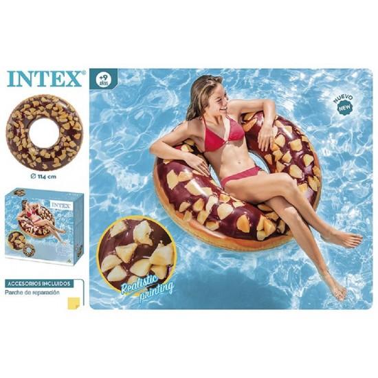 Boia donut chocolate d114cm 56262