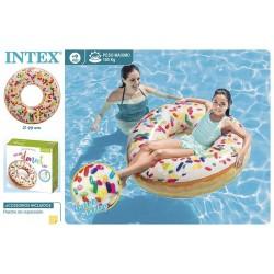 Boia donut branco d114cm  56263