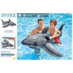Tubarão insuflavel intex 173*107cm 57525