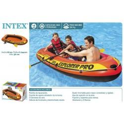 Barco insuflável para 3 pessoas 117*244*36cm 58358