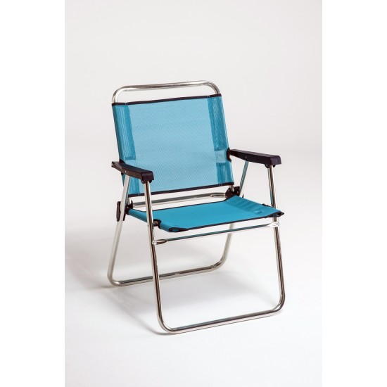 Cadeira alumínio alta fixa 75x50x25 cm 631ALF
