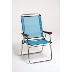 Cadeira alta de alumínio 88x57x27 cm 637ALF