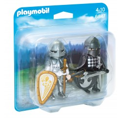 Playmobil duo pack cavaleiros 6847