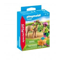 Playmobil menina com ponei 70060