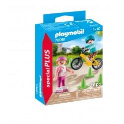 Playmobil casal meninos desportivos 70061