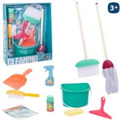 Conjunto de limpeza c/ 10pcs 38*31*10CM - 700779