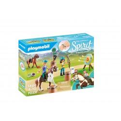 Playmobil aventura ao ar livre spirit 70331