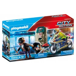 Playmobil city action policia perseguir ladrão 70572