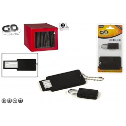 Blister c/ cadeado e identificador 81038