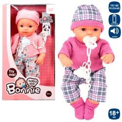 Bebé c/ som sortido 19X34 CM - 81296