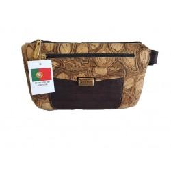 Bolsa cintura em cortiça 23*14cm 906